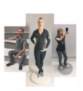 3D Portrait Figurines — Custom