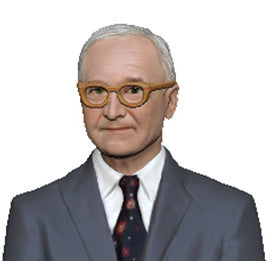 United States President Figurine: Harry S. Truman