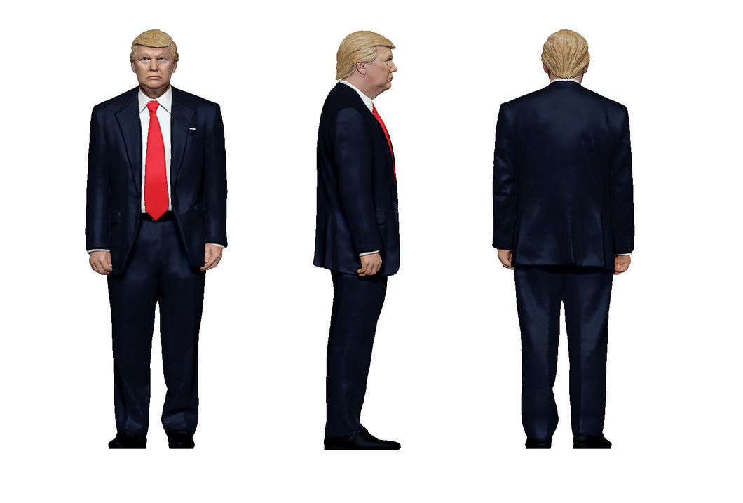 United States Presidential Figurines: Donald Trump