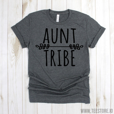 www.teestore.io-Aunt Shirt - Aunt Tribe T Shirt - Aunt Tee Shirt - Funny Auntie Shirt - New Auntie Gift - Favorite Aunt Shirts Tshirt Funny Sarcastic Humor Comical Tee | TeeStore.io