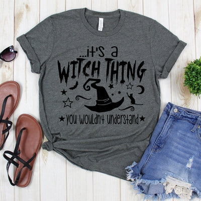 www.teestore.io-Fall Shirt - It's A Witch Thing You Wouldn't Understand Nine Stars - Halloween TShirt - Boo Shirt - Witch Shirt Tshirt Funny Sarcastic Humor Comical Tee | TeeStore.io