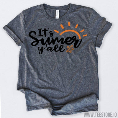 www.teestore.io-It's Summer Y'all Tshirt Funny Sarcastic Humor Comical Tee | TeeStore.io