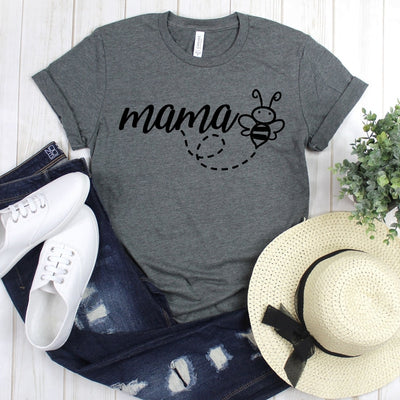 wwwteestoreio-Mom Bee - Bee Shirt - Mom Shirt - Save The Bees - Mama Shirt - Mom Gift - Mom T Shirt - Mama - Gift for Mom - New Mom Gift - New Mom