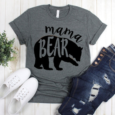wwwteestoreio-Mom To Be Shirts - Mama Bear Shirt - Bear Shirts - Mommy Shirts - Gift For Mom Shirts
