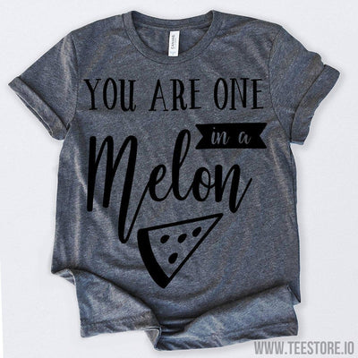 www.teestore.io-Valentines Day Shirt You Are One In A Melon Tshirt Funny Sarcastic Humor Comical Tee | TeeStore.io