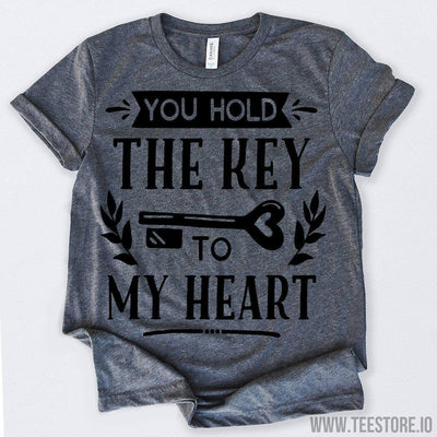 www.teestore.io-Valentines Day Shirt You Hold The Key To My Heart Tshirt Funny Sarcastic Humor Comical Tee | TeeStore.io