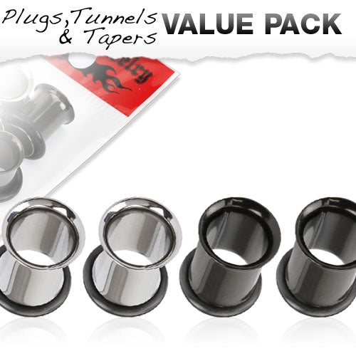 0 Gauge 4 Pcs Value Pack Plugs