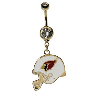 Arizona Cardinals Belly Ring