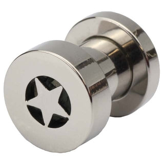 2 Gauge Screw Fit Star Tunnel