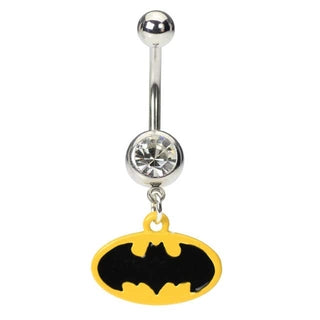 Batman Belly Button Ring