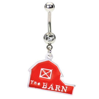 Barn Belly Button Ring