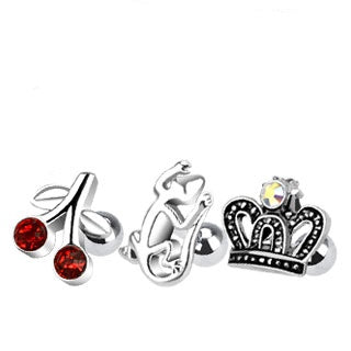 3 Pack Cartilage Rings