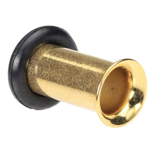 4g Gold Plated Single Flared Tunnel Ear Plug