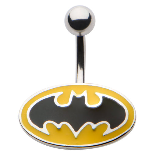 Batman NonDangle Belly Ring