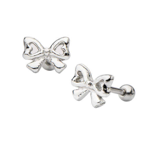 Bow Cartilage Earring 18g