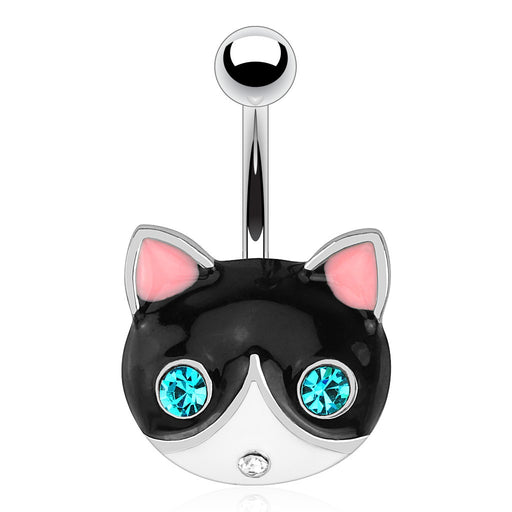 Kitty Cat Belly Ring