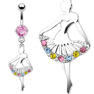Ballerina Belly Ring