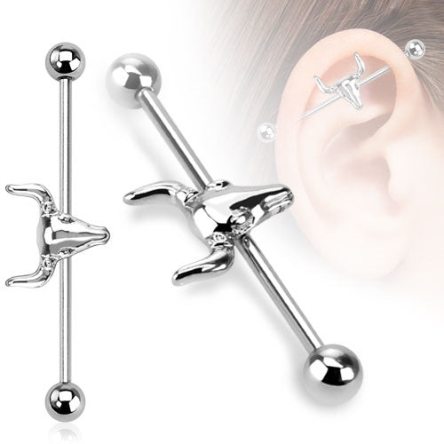 Bull Head Industrial Barbell