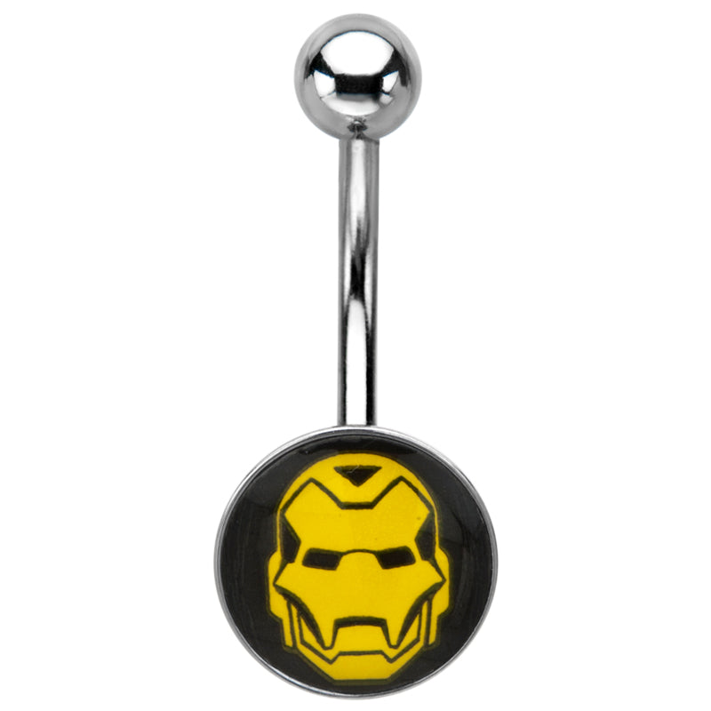 Iron Man Belly Ring