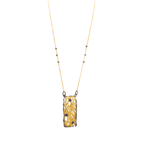 Necklace Luxury Art Deco Golden Set I