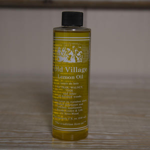 Old Village Lemon Oil