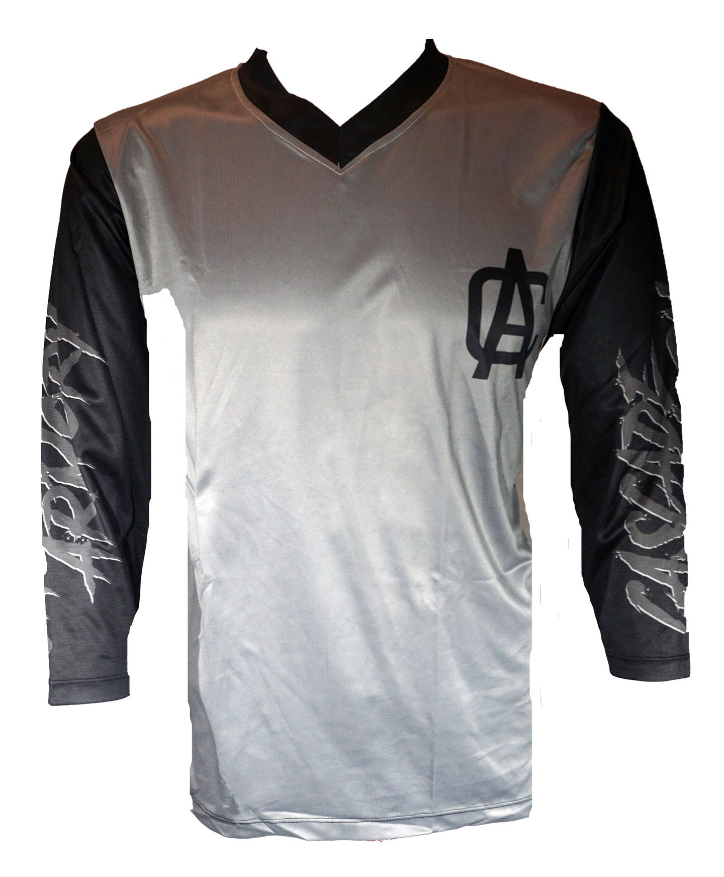 The Sender 3/4 Sleeve MTB Jersey - Gray & Black