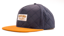 Skyliner Quilted Snapback Hat - Royal Blue