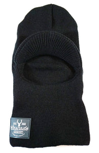 Spring Chicken Neck Tube Beanie - Black