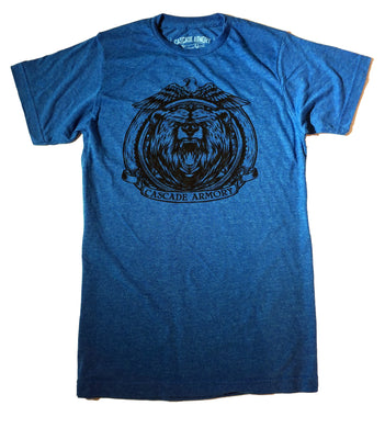 The Grizz T Shirt - Blue