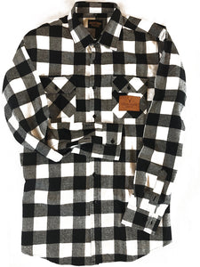The Galveston Flannel - Black & White