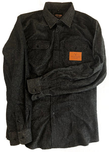 The Galveston Flannel - Black
