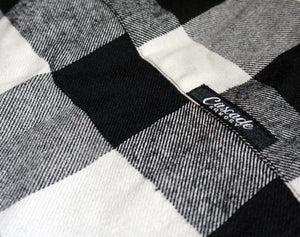 The Galveston Flannel - Black And White