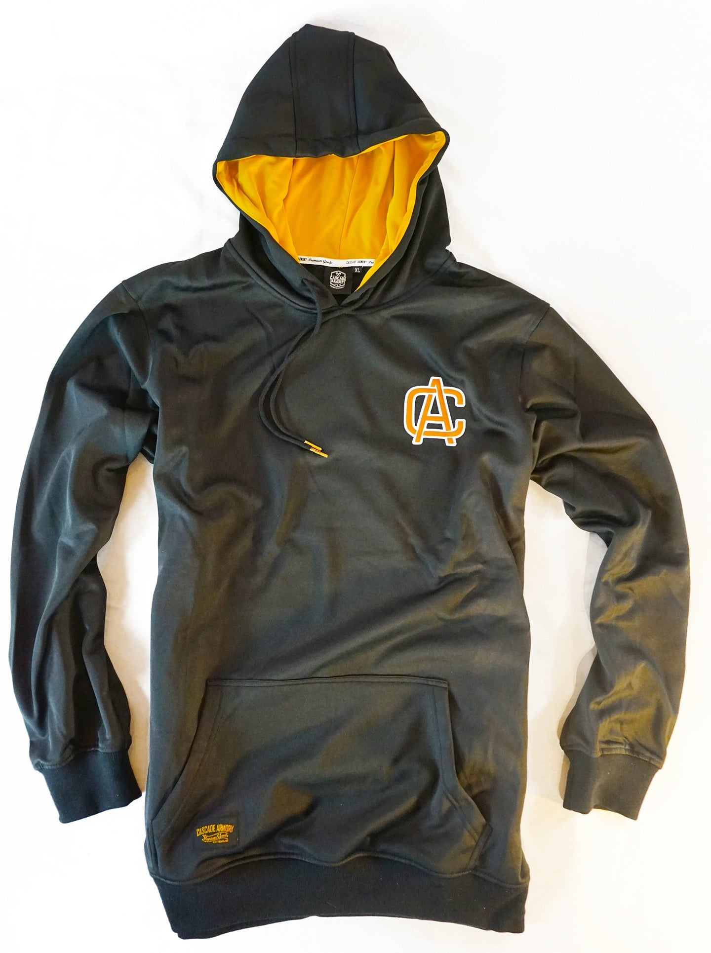 The Gold Standard Hoodie - Gold Hood