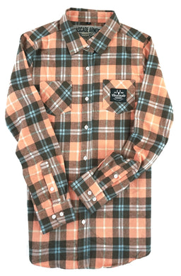 Women's Galveston Flannel - Pink Salmon