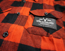 The Galveston Flannel - Red & Black