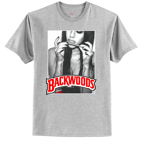 Backwoods Cigars Blunt Cannabis Tobacco 420 Party tShirt