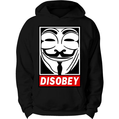 funny Disobey Hoodie Supreme