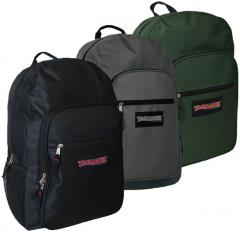 "19"" Deluxe Backpack - 3 Colors Case Pack 24"