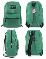 "15"" Classic PureSport Backpacks - Green Case Pack 12"