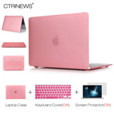 CTRINEWS Matte Case for Macbook Air Pro 13.3