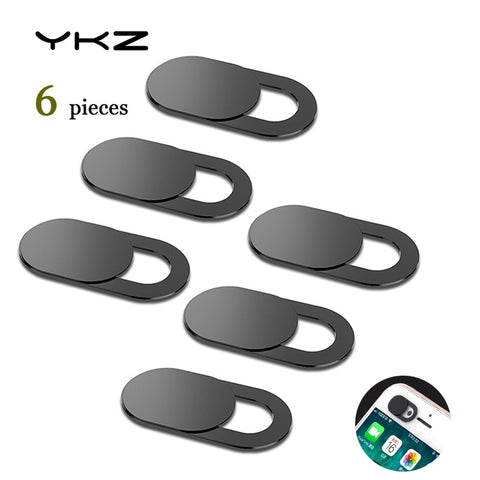 6Pcs Mobile Phone Privacy Sticker WebCam Cover Shutter Magnet