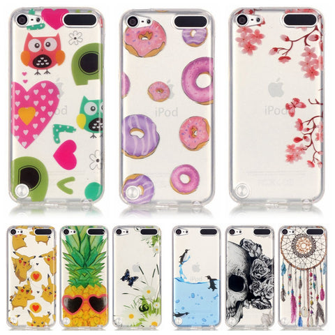 Soft TPU Silicone case sFor Apple iPod Touch 5 / 6 case For Apple iPod Touch 5 touch 6