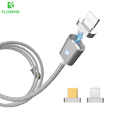 FLOVEME Magnetic USB Cable For iPhone 5 6 7