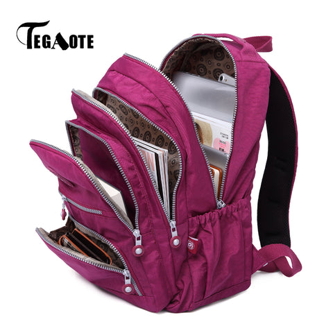 TEGAOTE School Backpack for Teenage Girls