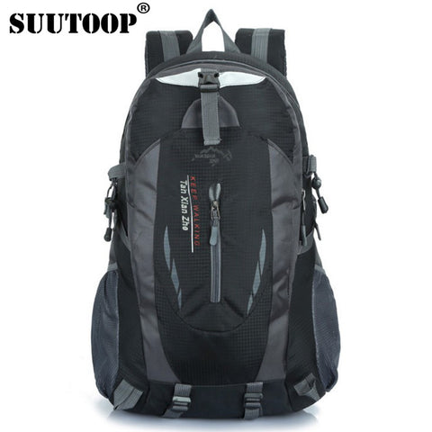 Men's Black Backpack Waterproof