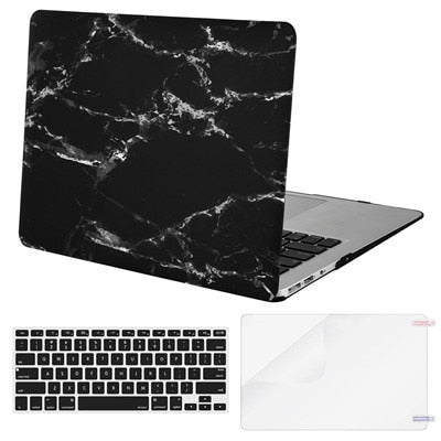 Mosiso Marble Shell Cover Case for Macbook Air 13 inch Laptop Matte Carry Case Mac Pro 13 Retina A1502 A1425 year 2015 2016 2017