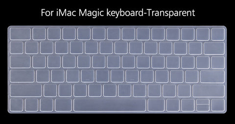 US Version Ultra Thin Silicone Keyboard Protector for IMac