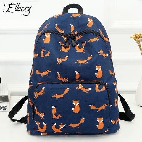High Quality Waterproof School Backpack Female Knapsack