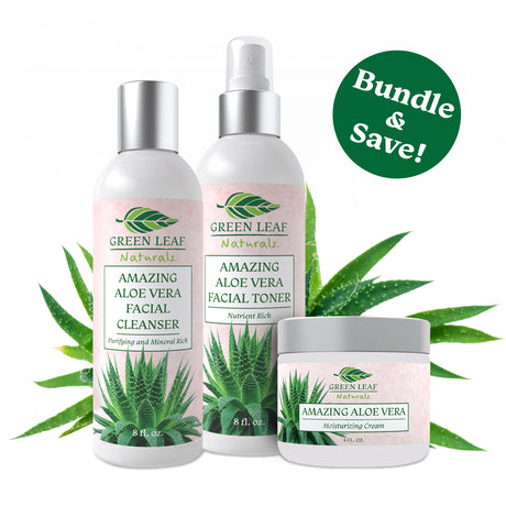 Cleanser, Toner & Moisturizer Bundle