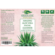 Amazing Aloe Vera Facial Cleanser